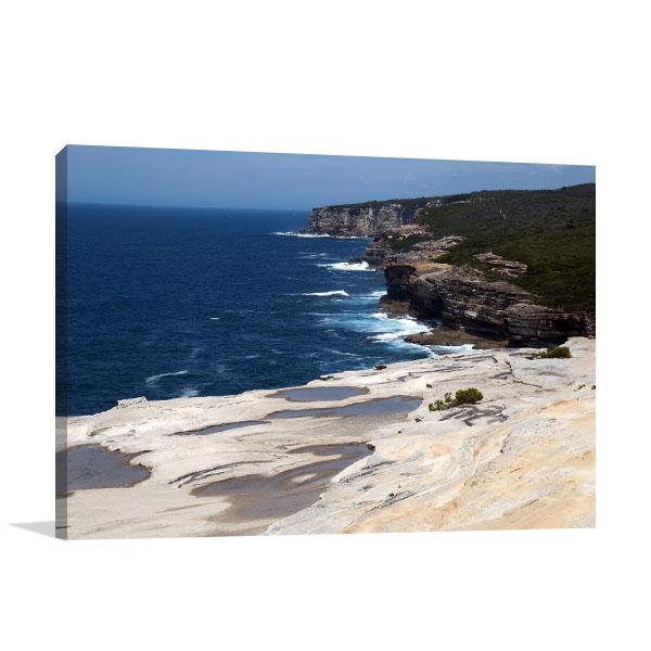 Sydney Art Print Bundeena Lookout Canvas Wall Art