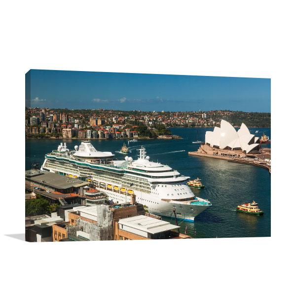 Sydney Art Print Circular Quay Harbour Wall Art