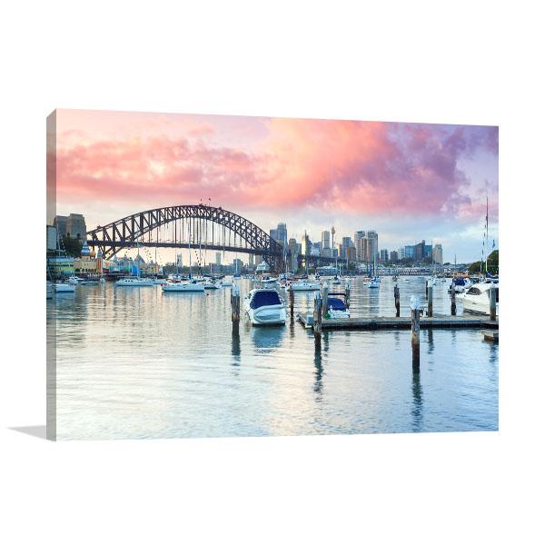 Sydney at Dusk Art Prints