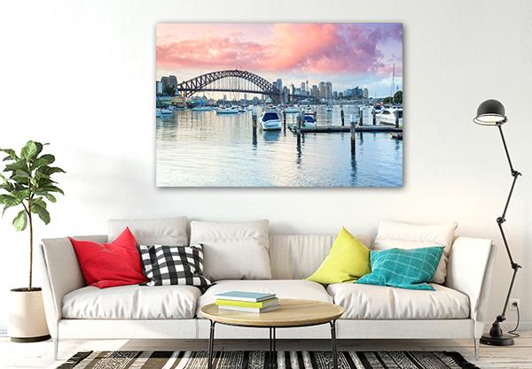 Sydney at Dusk Prints Canvas
