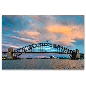 Sydney Bridge Wall Art Print