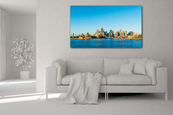Sydney City Skyline Prints Canvas