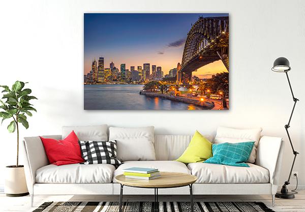 Sydney Harbour Bridge Canvas Art