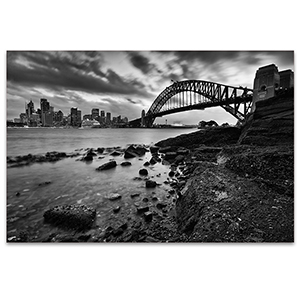 Sydney Landmarks Canvas Art Print