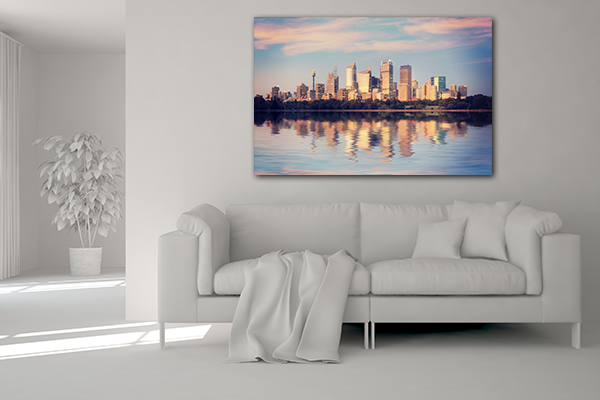 Sydney Reflection Prints Canvas