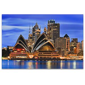 Sydney Waterfront Art Print