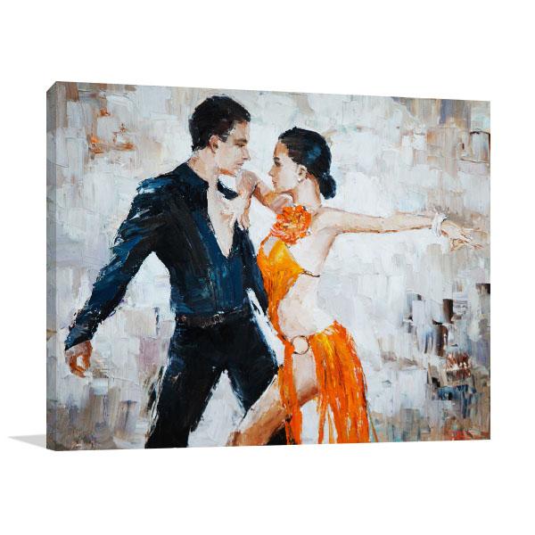 Tango in Watercolor Art Prints