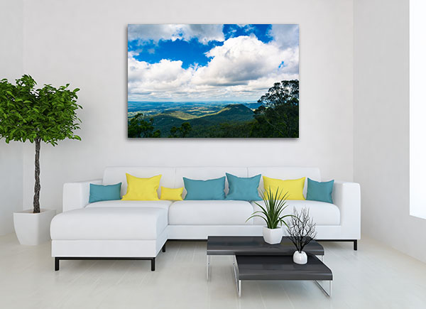 Toowoomba Countryside Canvas Prints