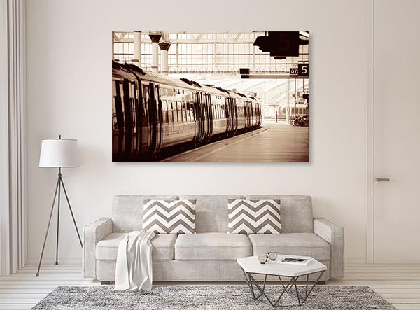 Train Station Artwork