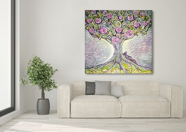 Tree Of Life Wall Canvas