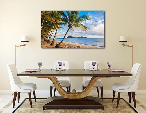 Tropical Beach Cairns Art Prints