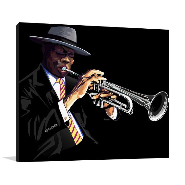 Trumpet Player Artwork