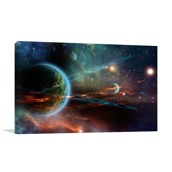 Universe Galaxy Artwork
