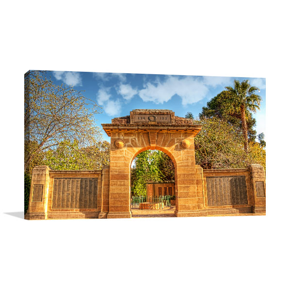 War Memorial Wagga Canvas Art Prints