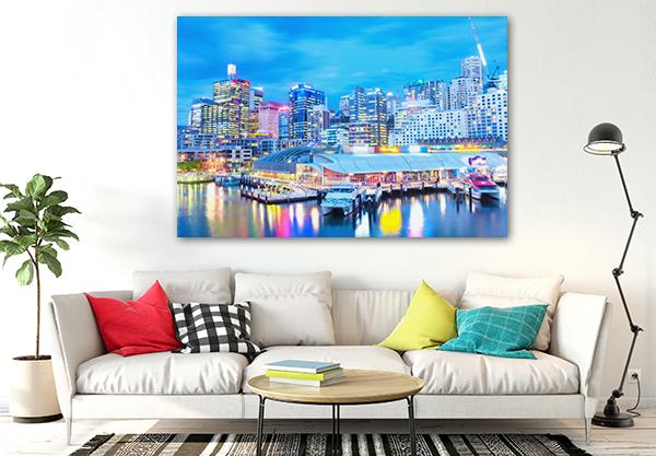 Watercolor Sydney Wall Art