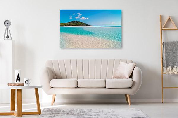 Whitehaven Art Print Queensland Beach Canvas Art Prints