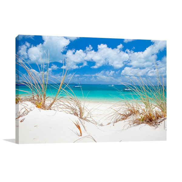 Whitehaven Beach Art Print Australia Prints Canvas