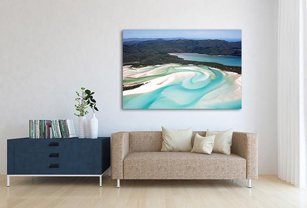 Whitehaven Beach Canvas Art Prints