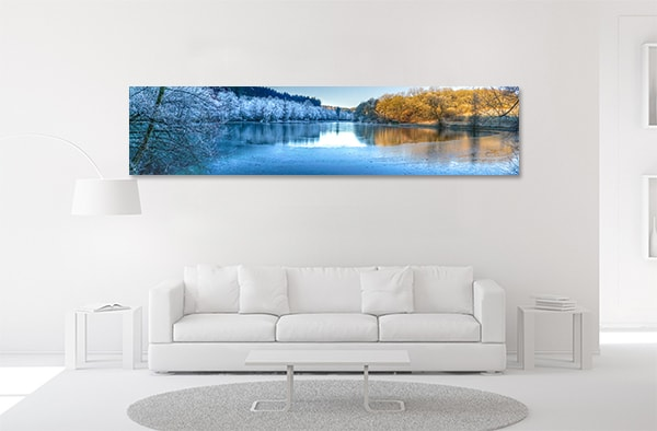Winter Landscape Print Artwork