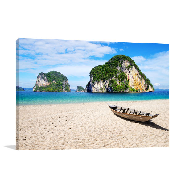 Wooden Boat Canvas Prints