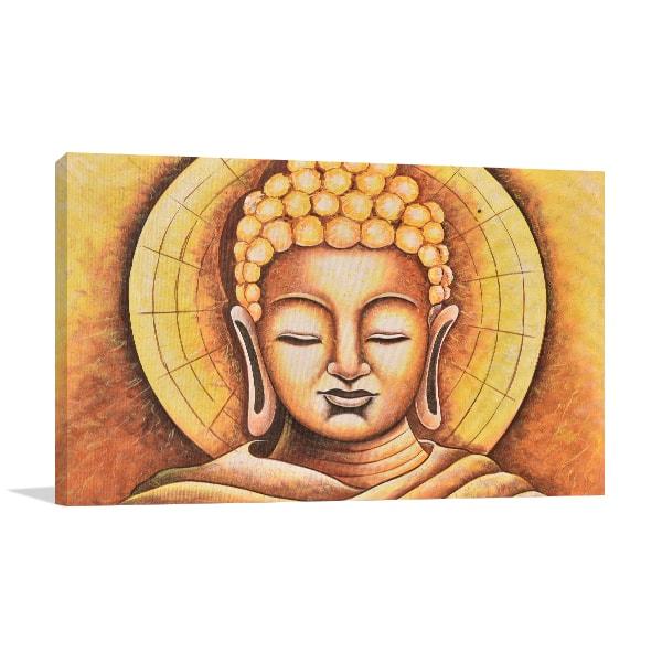 Wooden Buddha Art Prints