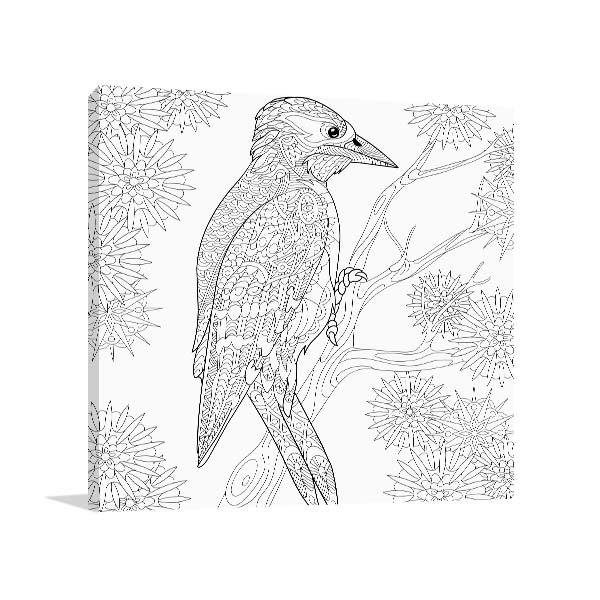 Woodpecker Canvas Art
