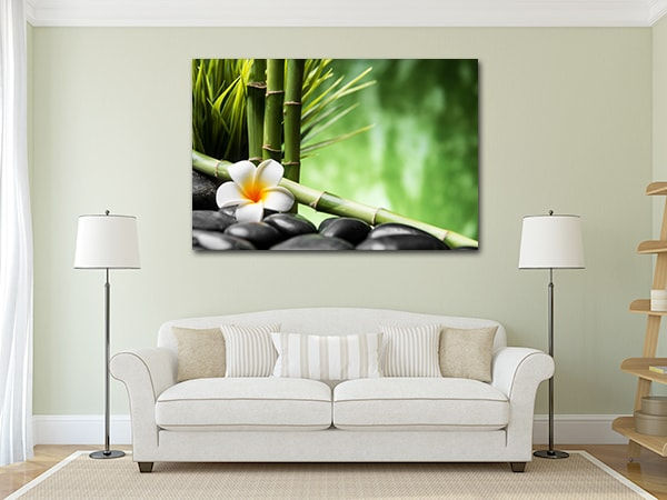 Zen Canvas Prints on the Wall